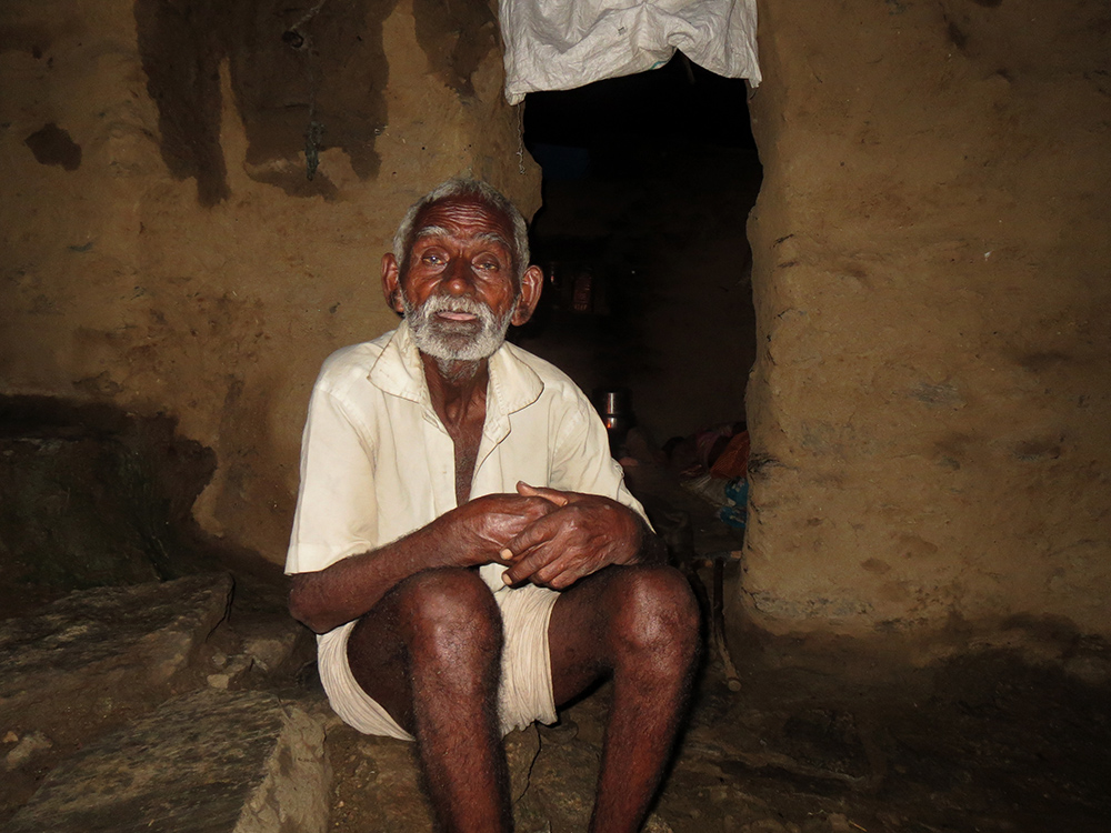 Hukum Singh, in his 80s, was declared dead and his Rs 750 per month pension, which the postman used to deliver to their village stopped after he could not open a bank account.