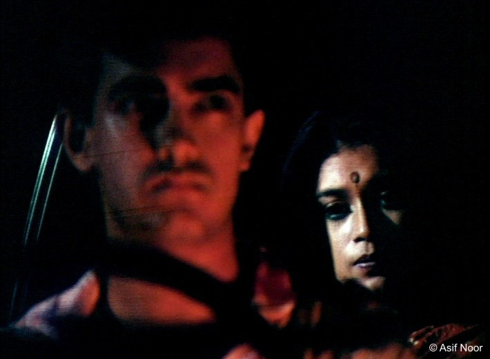 Aamir Khan and Supriya Pathak in Raakh. Image credit: Asif Noor.