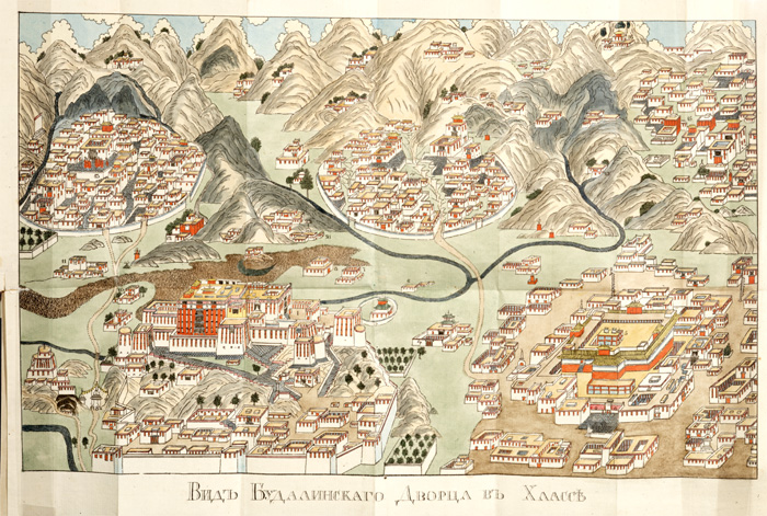 Old map of Lhasa