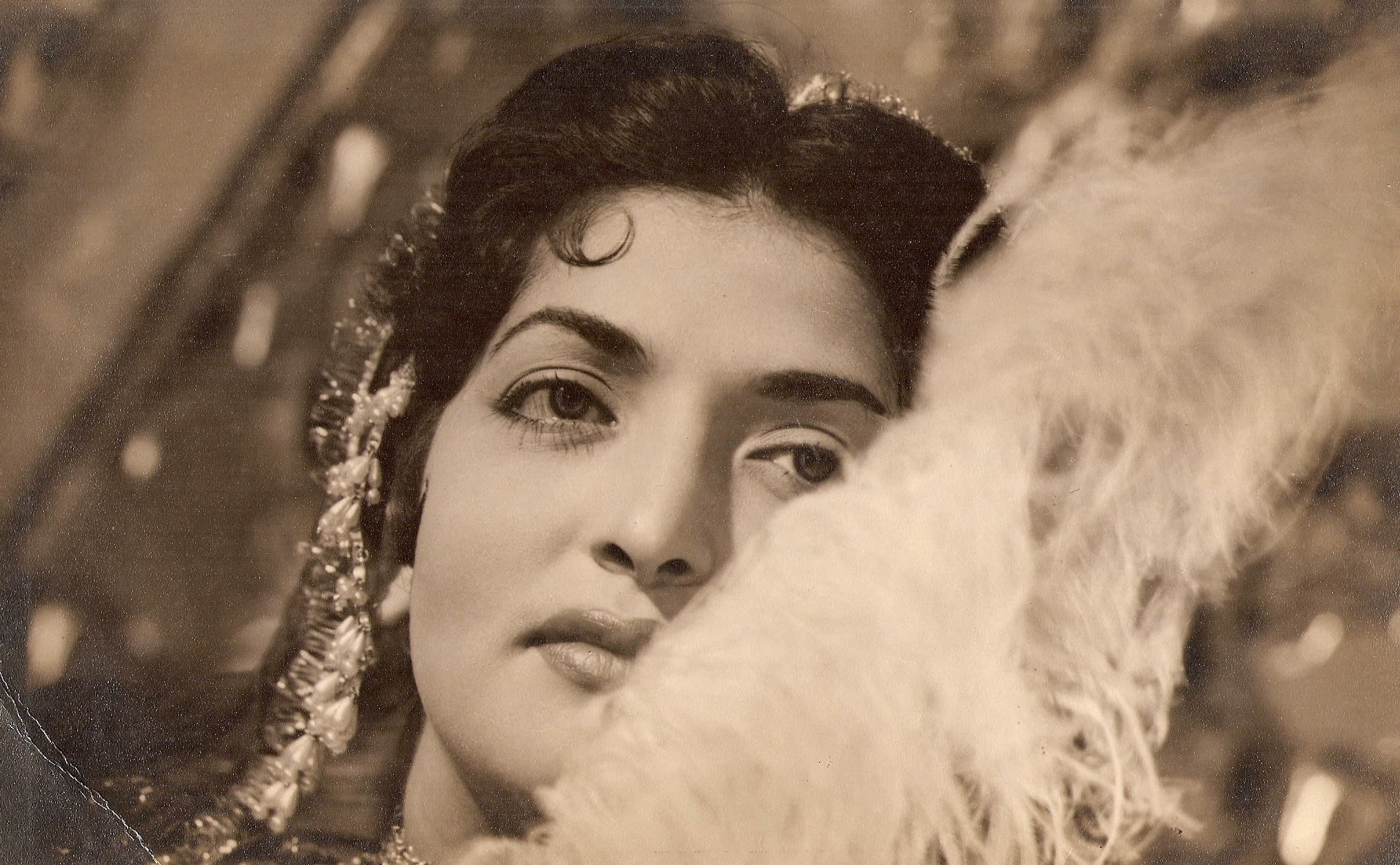 On the set of Mughal-e-Azam.