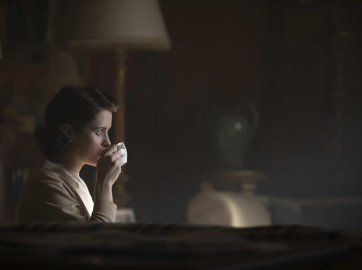 Claire Foy in 'The Crown'.