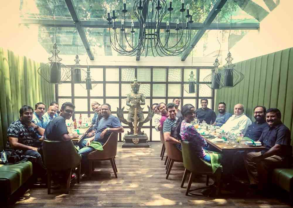 The Bangalore Pork Lovers' Club at Siam Trading Co..