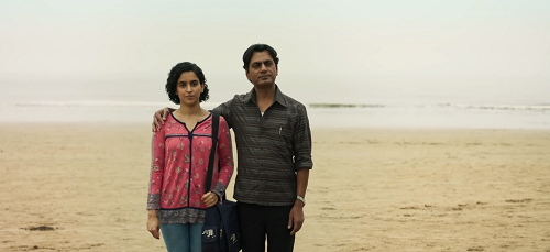 Sanya Malhotra and Nawazuddin Siddiqui in Photograph. Courtesy Amazon Studios/ Filmscience/Poetic License/The Match Factory.