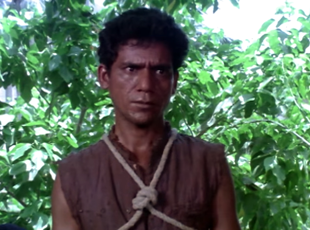 Om Puri in Aakrosh.