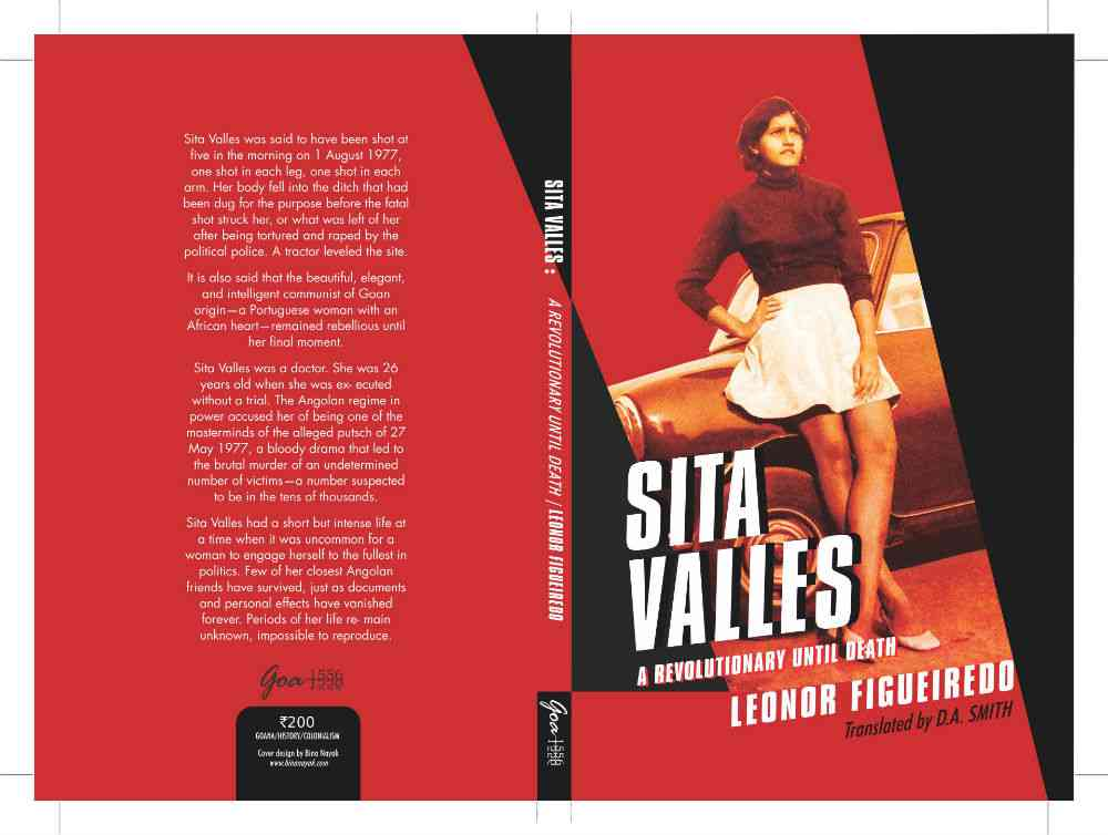 The cover of the translated 'Sita Valles: A Revolutionary until Death'.