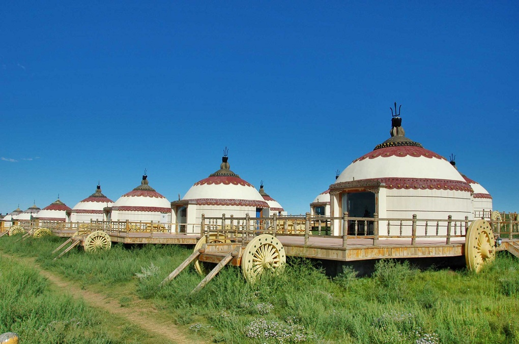 "Manchurian authorities consolidated permanent and seasonal gers (a Mongolian yurt) into ""concentration-villages"" resulting in the forced settlement of many Inner Mongolian nomads"