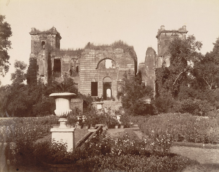 Dilkusha Palace. Photographer unknown, c. 1880s.  Photo credit: British Library, Photo 50/2(123)