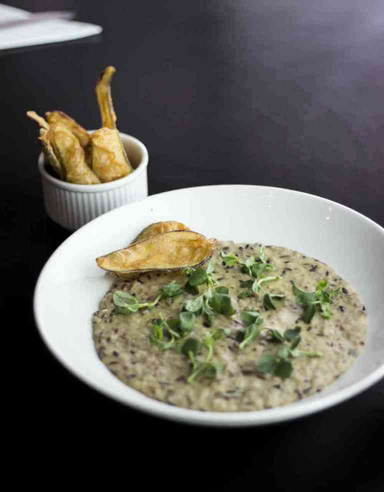Five-rice risotto at Salt House.