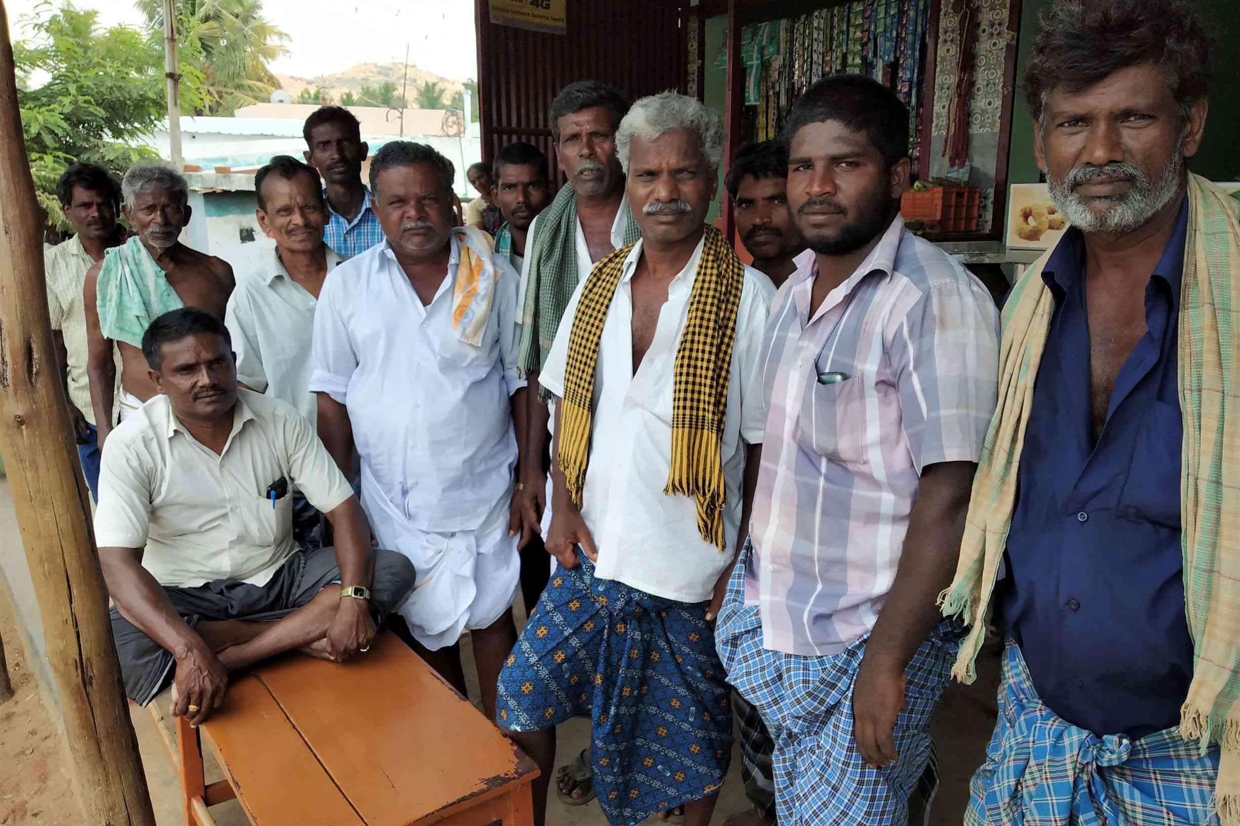 Many Kallars in Theni are backing the Amma Makkal Munnetra Kazhagam. Photo credit: Sruthisagar Yamunan