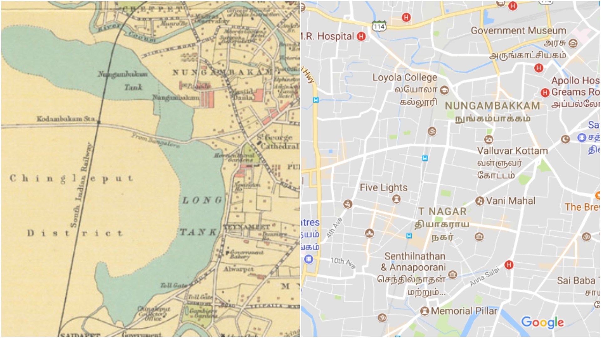 Tamil Nadu rains Six Chennai maps explain why the city faces