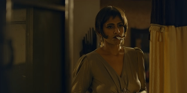 Kubbra Sait as Cuckoo in Sacred Games. Courtesy Netflix.