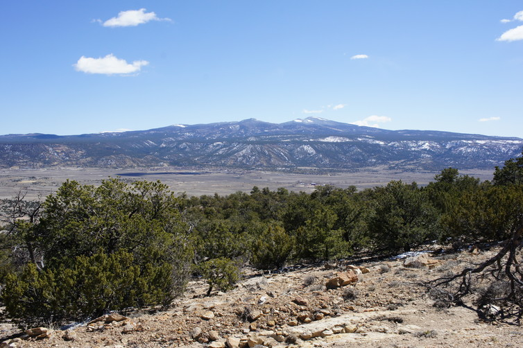 Mount Taylor in New Mexico, a sacred site to the Zuni who believe it is a living being. Image Credits: Chip Colwell, Author provided