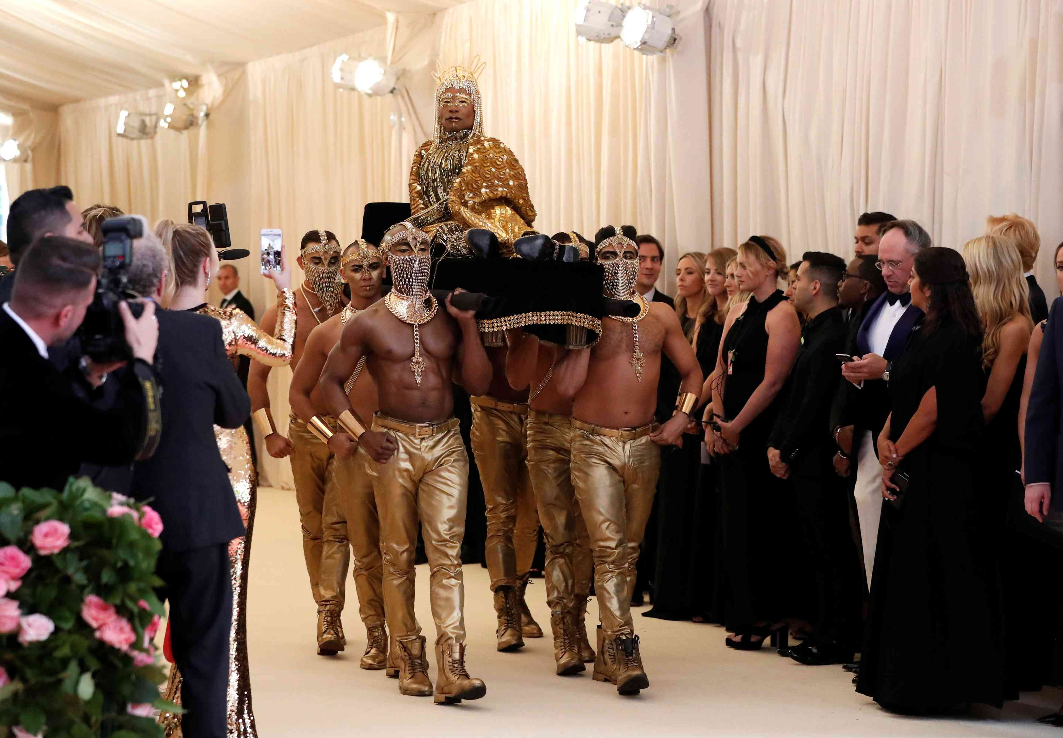 Billy Porter at the Met Gala 2019 | Image credit: Mario Anzuoni / Reuters