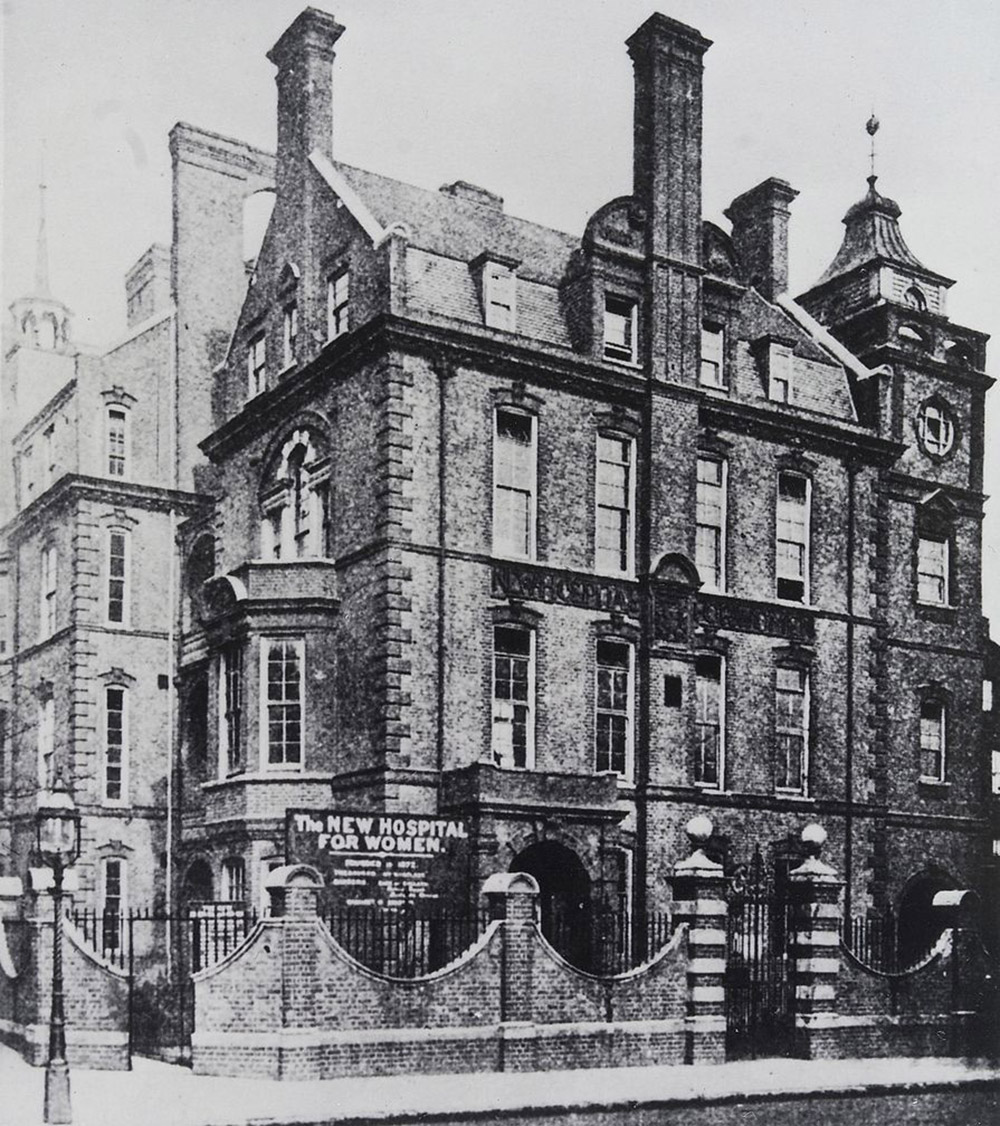 New Hospital for Women in London (where Ellaby later worked). Credit: via Wellcome Images/Wikimedia Commons/CC BY 4.0