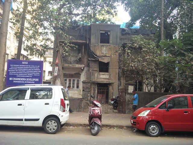 Many old buildings are frequently locked in lengthy legal disputes. Credit: Aakash Karkare