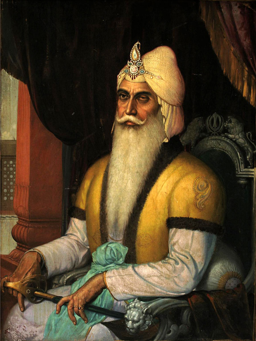 Following Maharaja Ranjit Singh's death in 1839, the Sikh Empire faced political instability. (Credit: Wikimedia Commons)