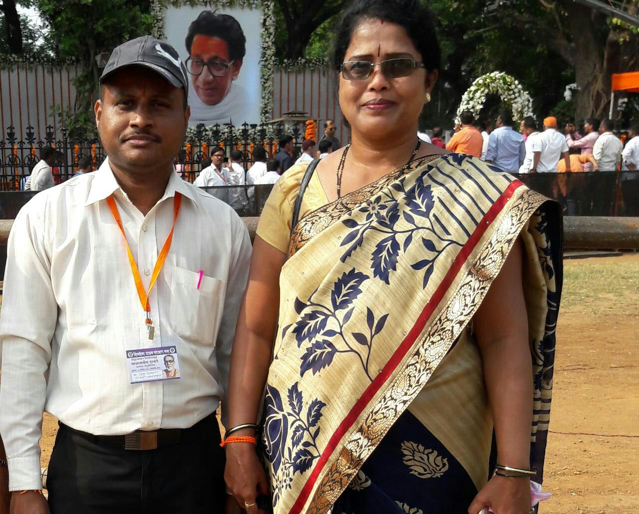 Chitra Shinde is a deputy head of the Shiv Sena unit in the Jogeshwari area.