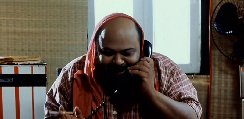Saurabh Shukla in Satya (1998). Image courtesy Varma Corporation Limited.