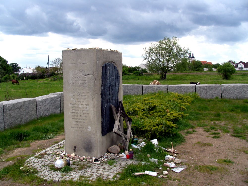 The Jedwabne memorial. Photo credit: Genevieve Zubrzycki, Author provided