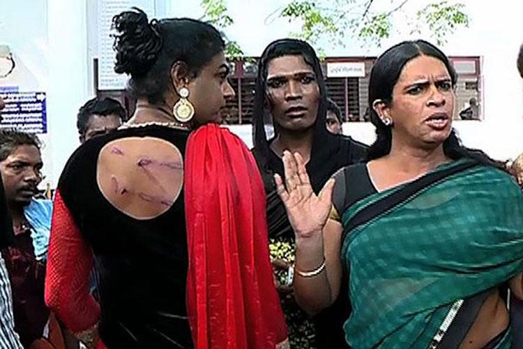 Cases have been registered against three policemen in Kozhikode for allegedly assaulting two transgender artistes. (Credit: YouTube)