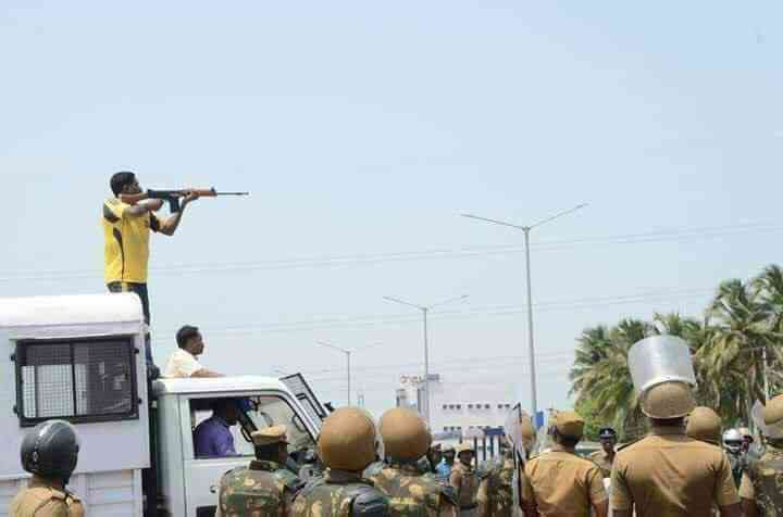 The Central Bureau of Investigation is investigating the protests in Thoothukudi and police firing in which 13 people were killed in May. (Photo credit: Twitter/MKStalin).