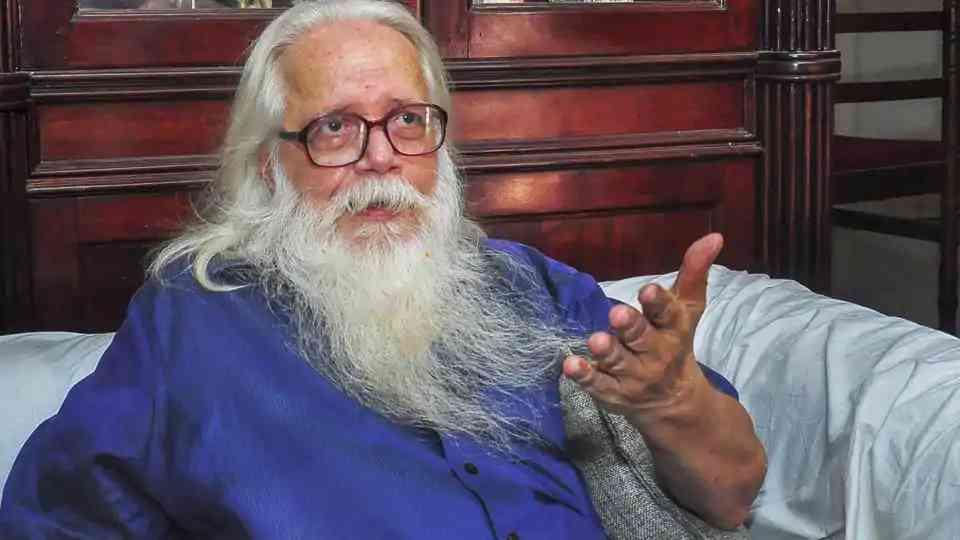 Scientist Nambi Narayanan.