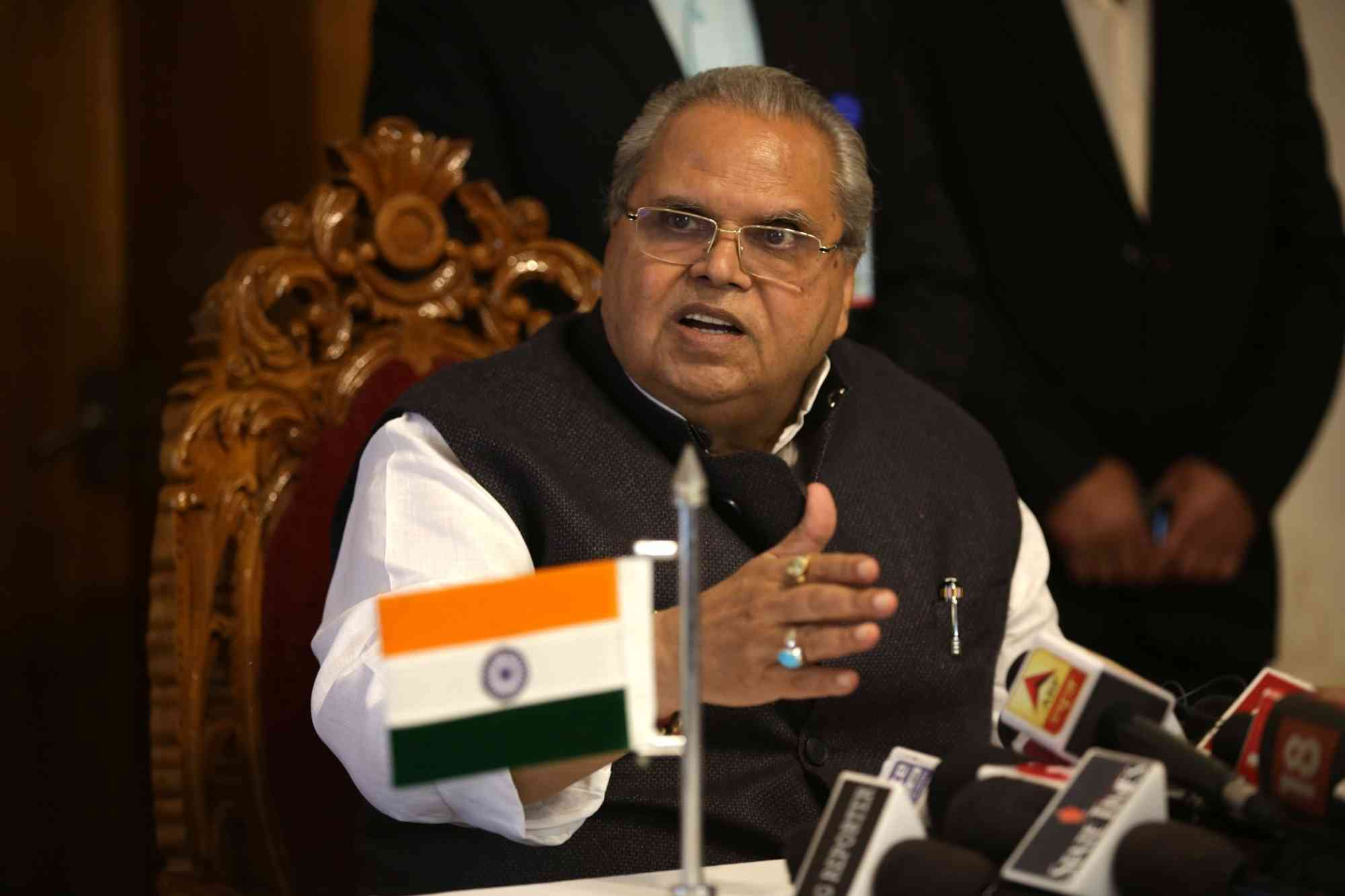 Many questioned whether it was Governor Satya Pal Malik's remit to take a decision to turn J&K Bank into a public-sector bank. (Credit: IANS)