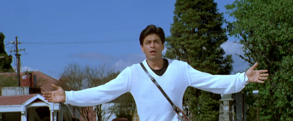 Main Hoon Na (2004). Courtesy Red Chilles Entertainment.