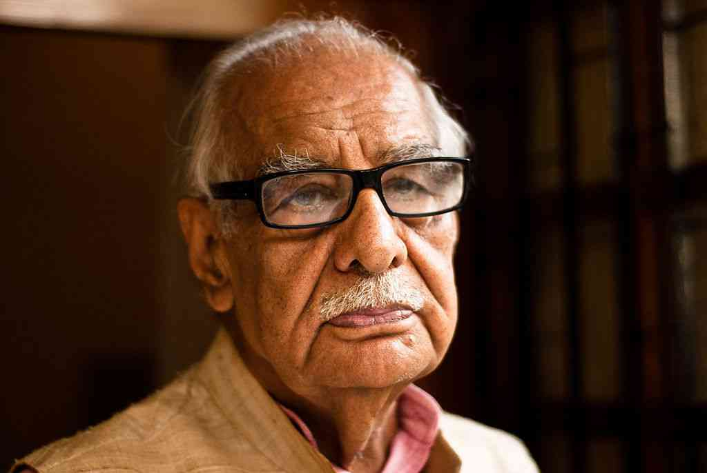 Indian journalist Kuldip Nayar's ashes were immersed in the Ravi in Pakistan on October 5. (Photo credit: Jaskirat Singh Bawa/Flickr).