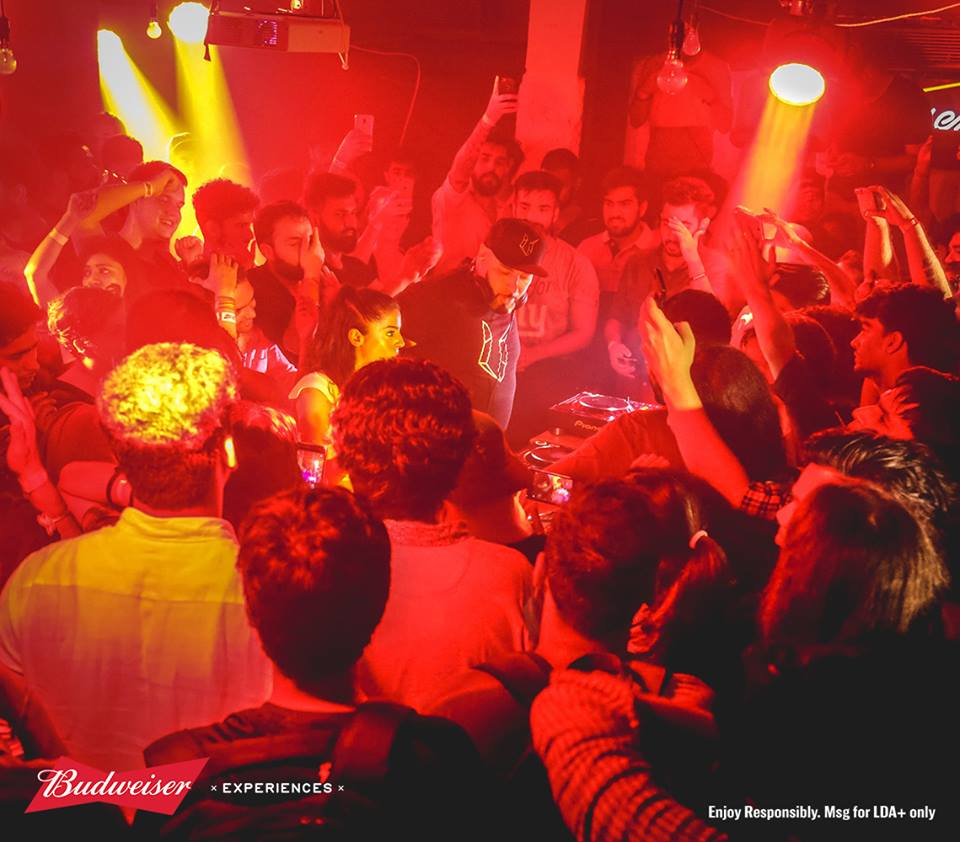 Budweiser & Boiler Room's What's Brewing in Delhi. Image credit: BudweiserIndia/Facebook