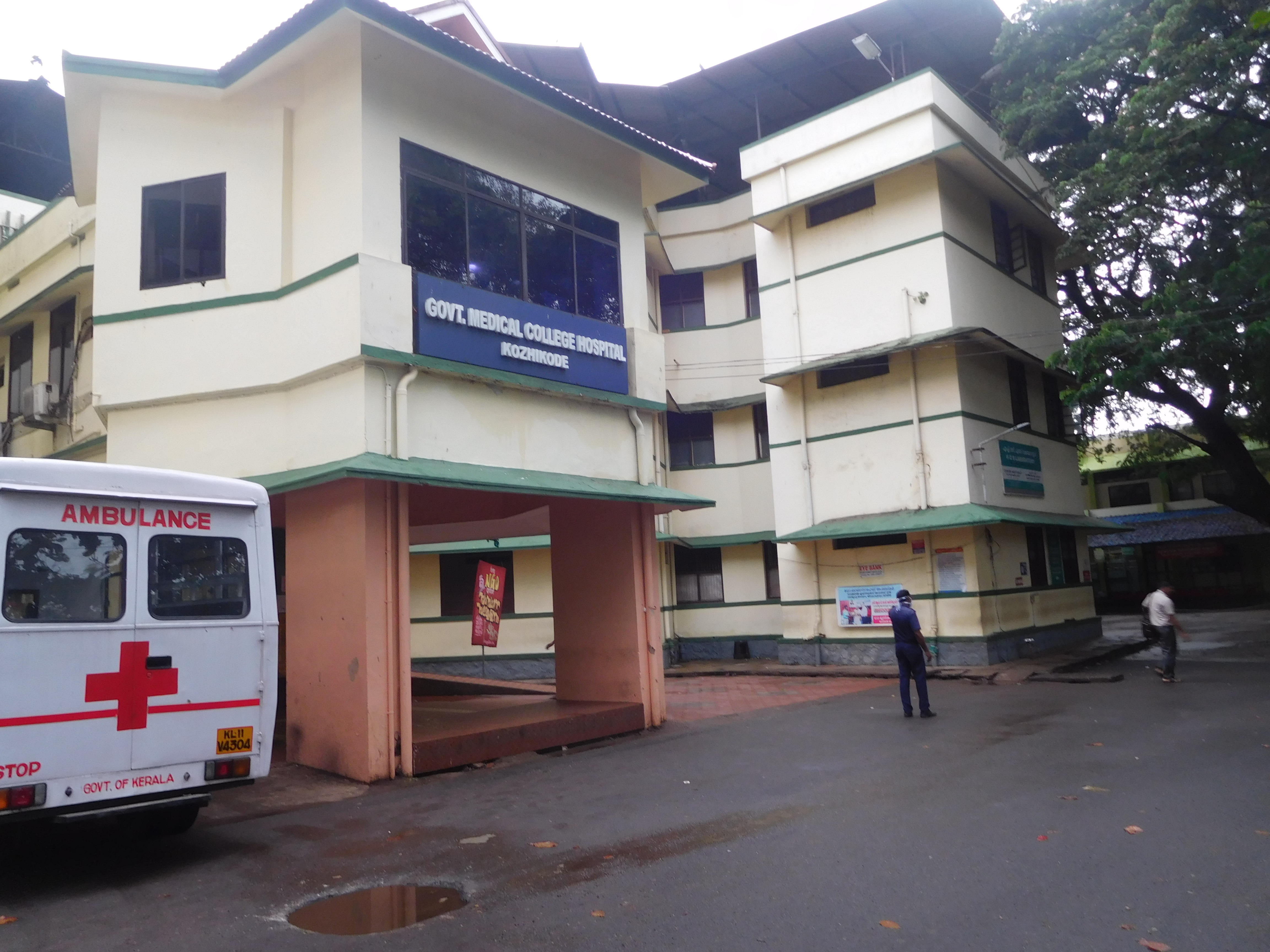The Government Medical College Hospital in Kozhikode treated 200 patients on Monday compared to its usual volume of 3,000 a day.