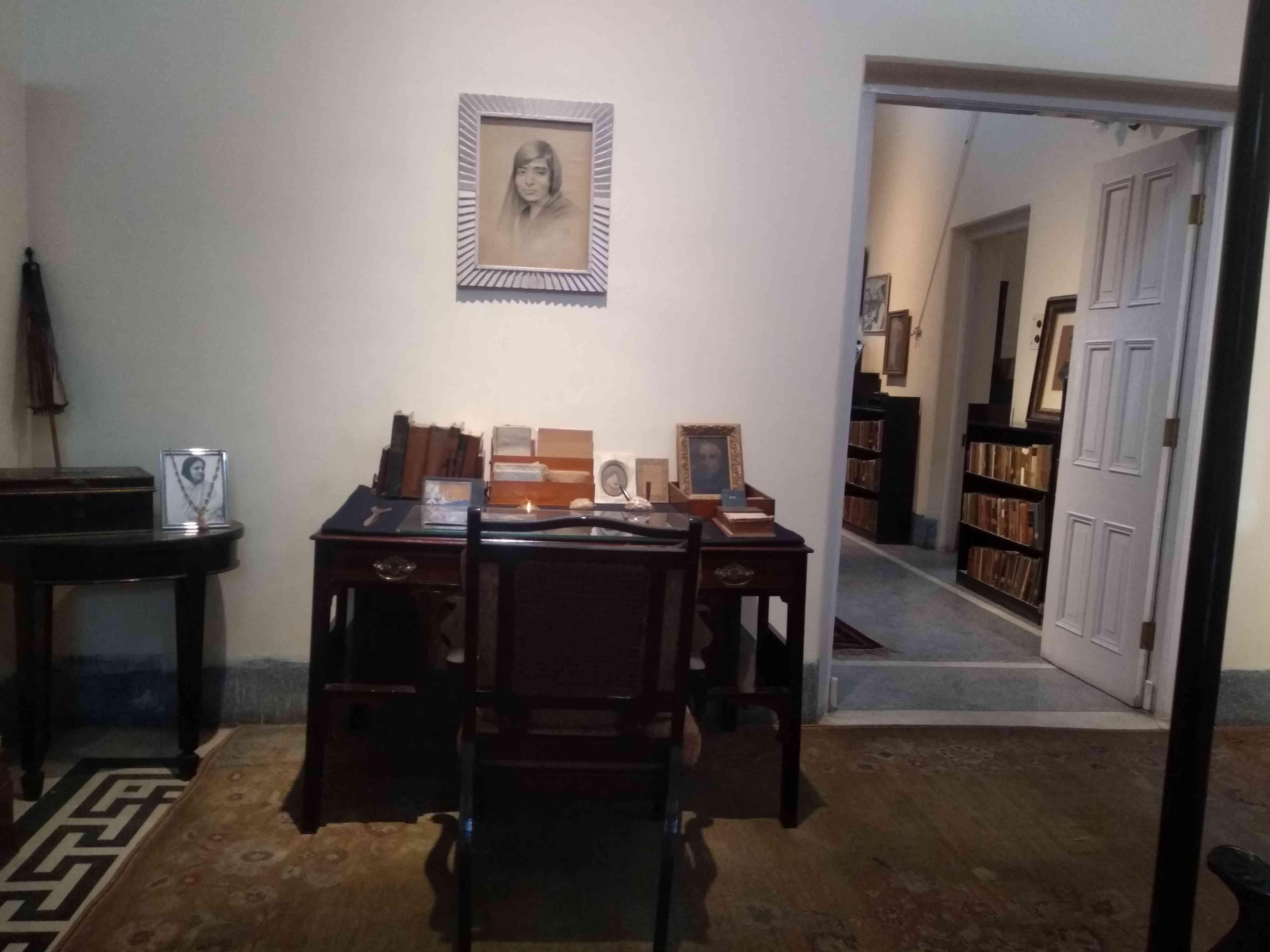 इंदिरा गांधी का कमरा