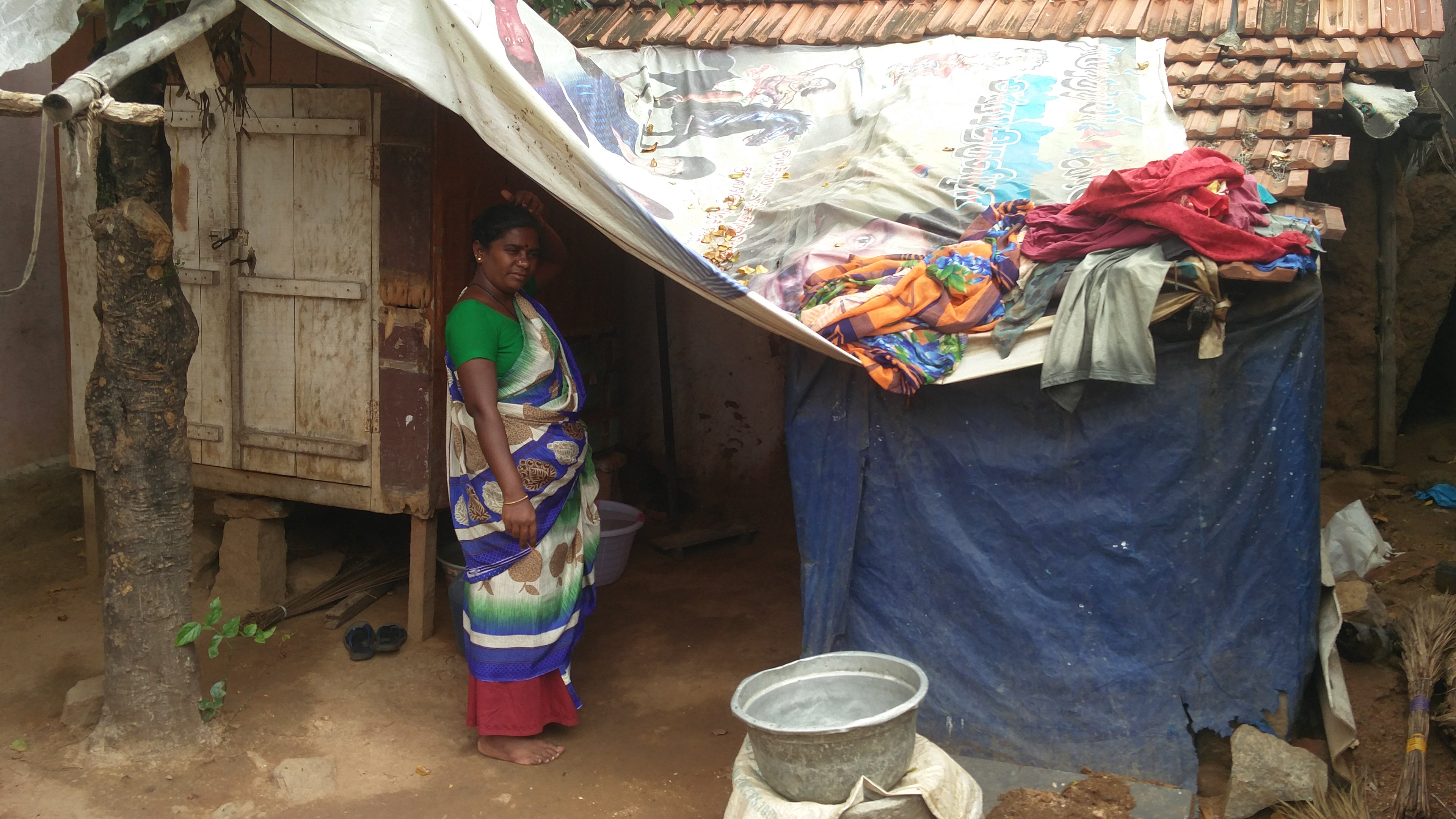 The Arunthathiyar settlement in Thottiyapati village is home to 43 Dalit families.