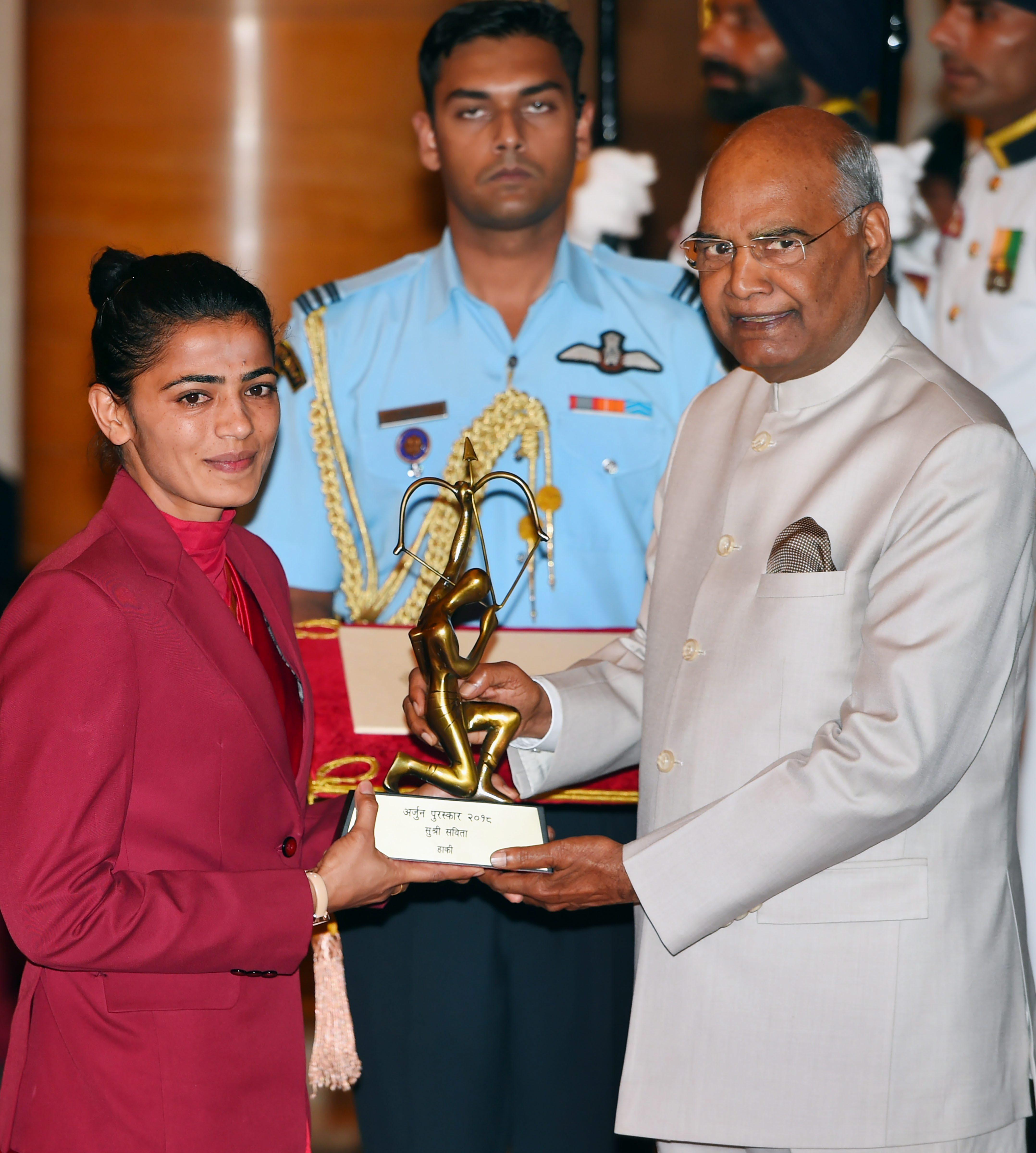 Savita Punia, Hockey. PTI