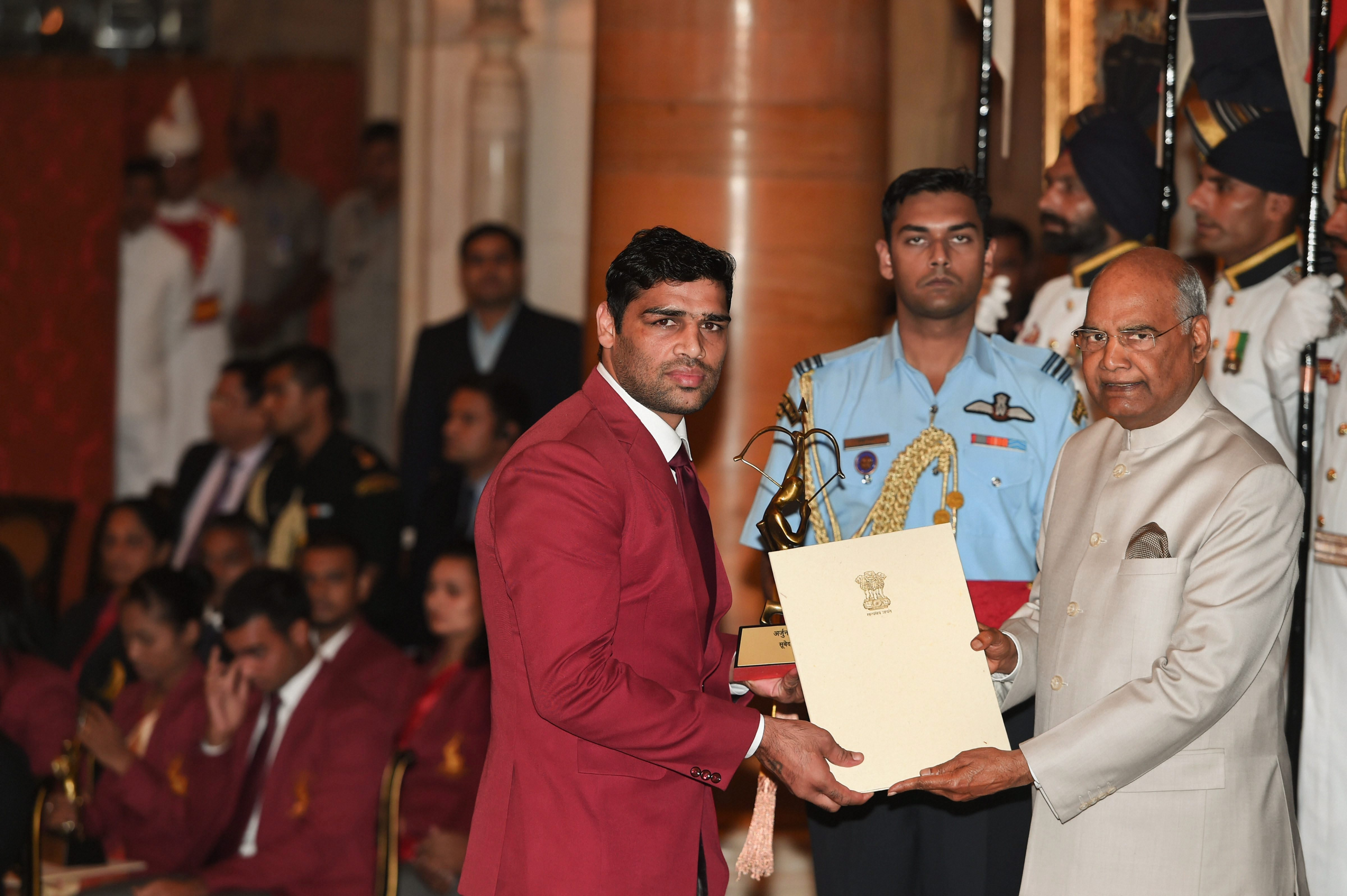 Satish Kumar, Boxing. PTI