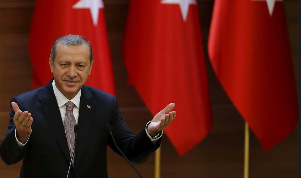 तुर्की की राष्ट्रपति रजब तैय्य्ब एर्दोआन