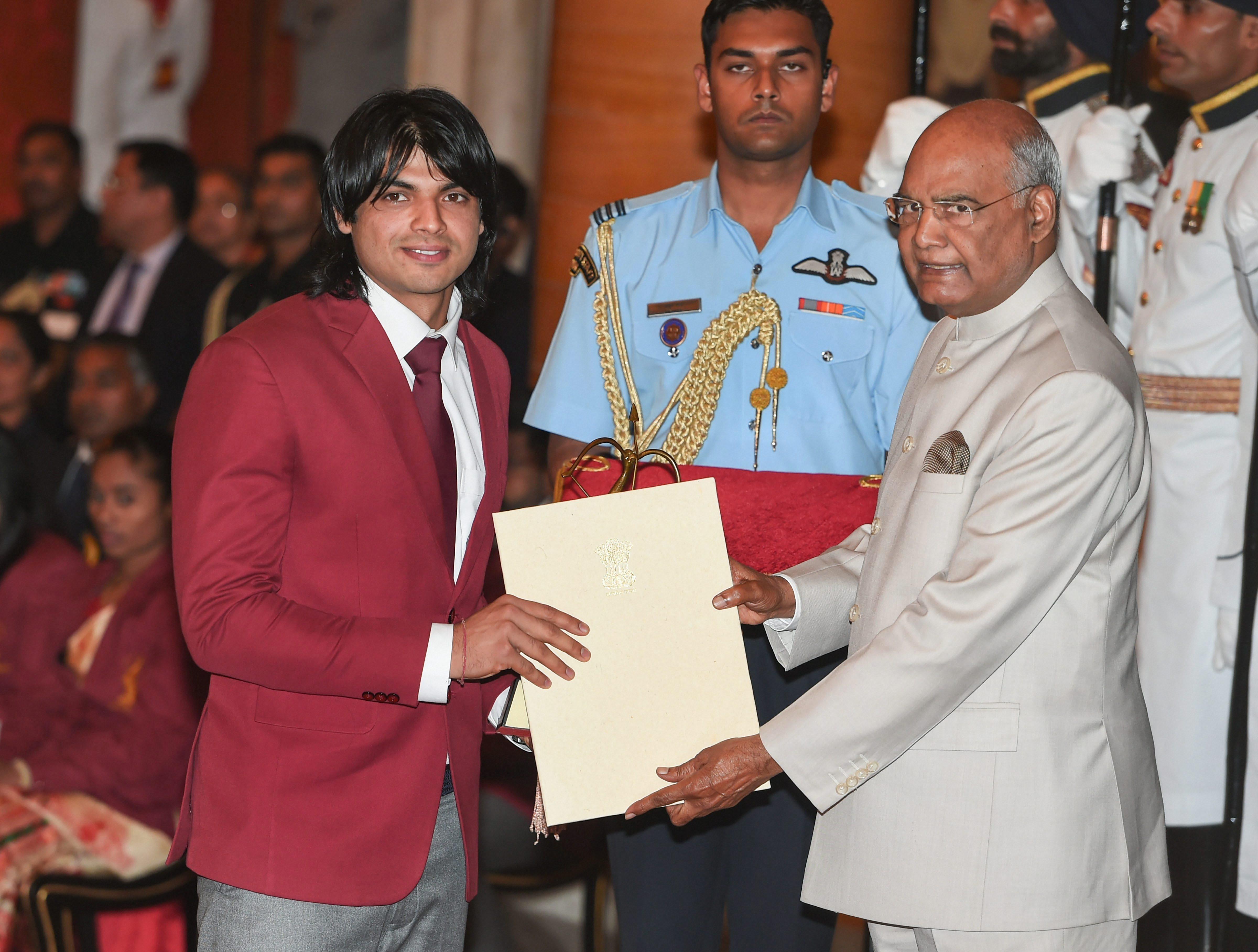 Nerraj Chopra, Athletics. PTI