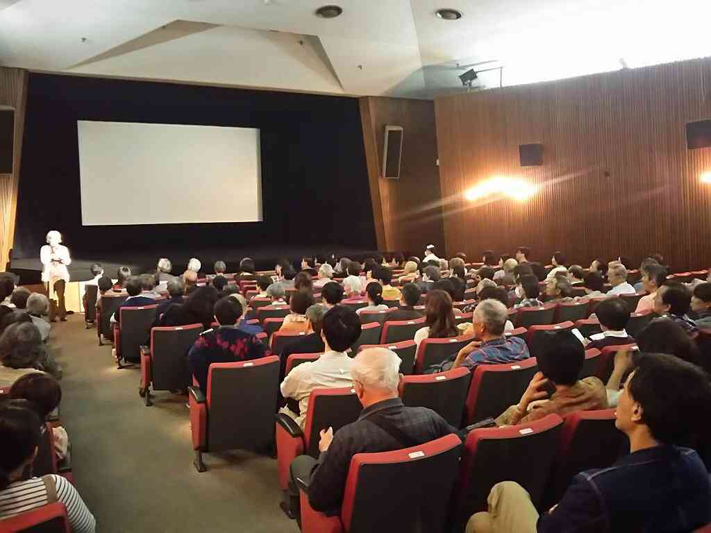 Inside Iwanami Theatre in Tokyo. Courtesy Sanjay Bhutiani.