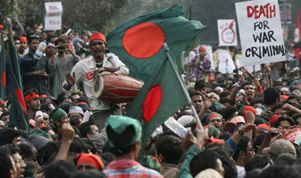 The Information and Communication Technology Act was amended and made more stringent in 2013 after the Shahbag protests. (Credit: AFP)