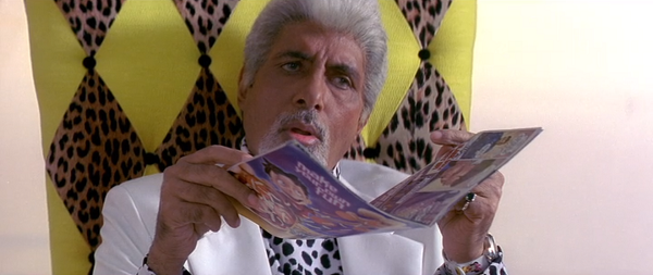 Amitabh Bachchan in Boom. Image credit: In Network Entertainment.