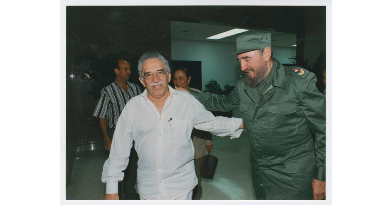 Gabriel García Márquez with Fidel Castro, 1998 (Harry Ransom Center at The University of Texas, Austin)