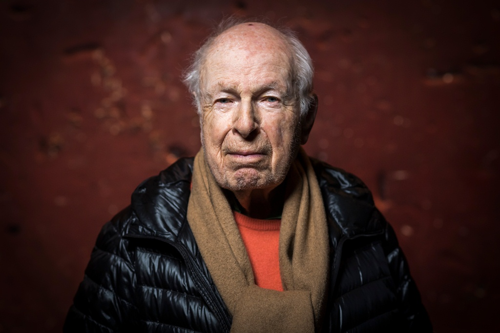 Peter Brook. Photo credit: Lionel Bonaventure/AFP