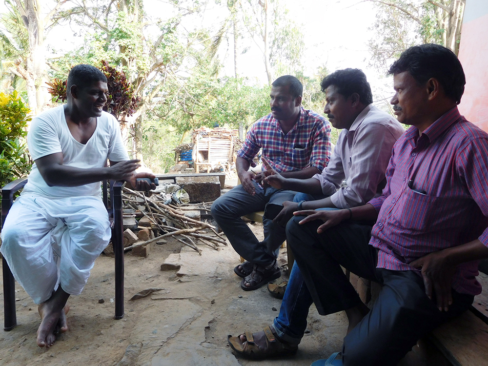 Poet Murukeshan says Adivasis desperately need employment.