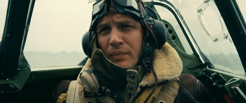 Tom Hardy in Dunkirk. Image credit: Warner Bros.