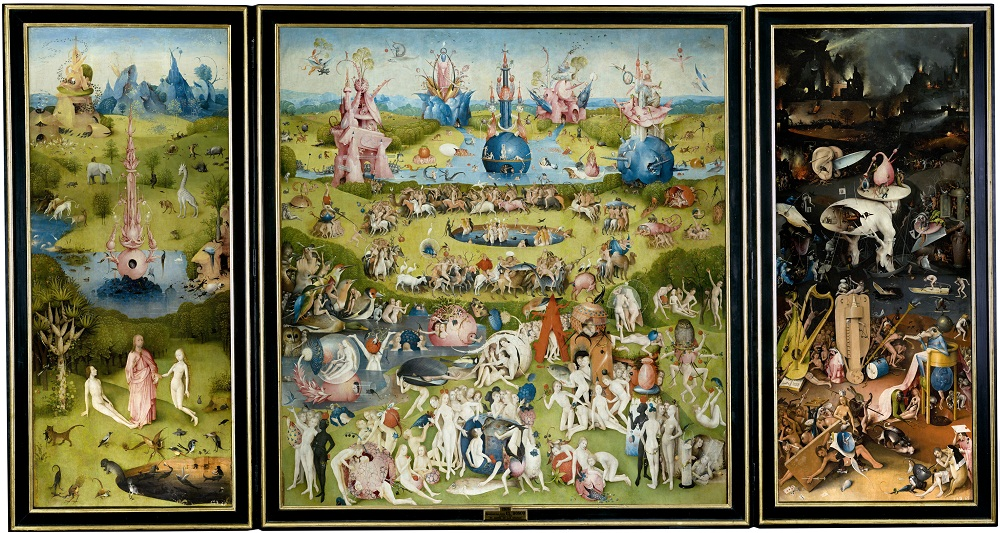 The Garden of Earthly Delights/ Credit: Wikimedia Commons