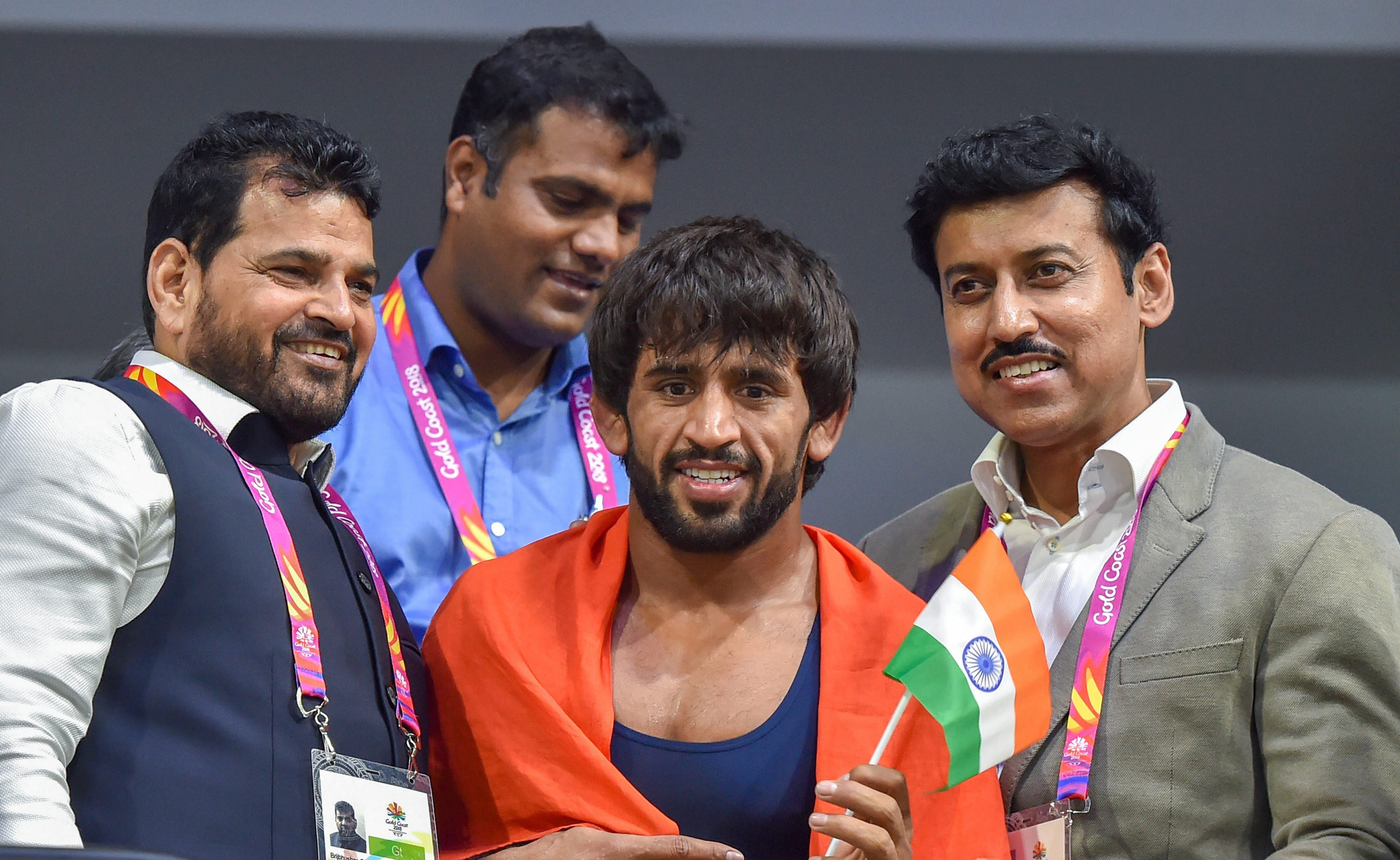 Bajrang put up a solid show too.