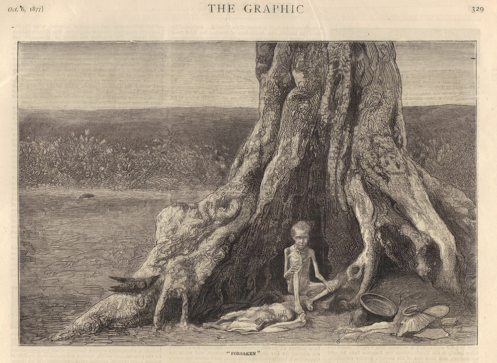 An engraving from 'The Graphic', October 1877. Image credit: Wikimedia Commons [Public Domain]