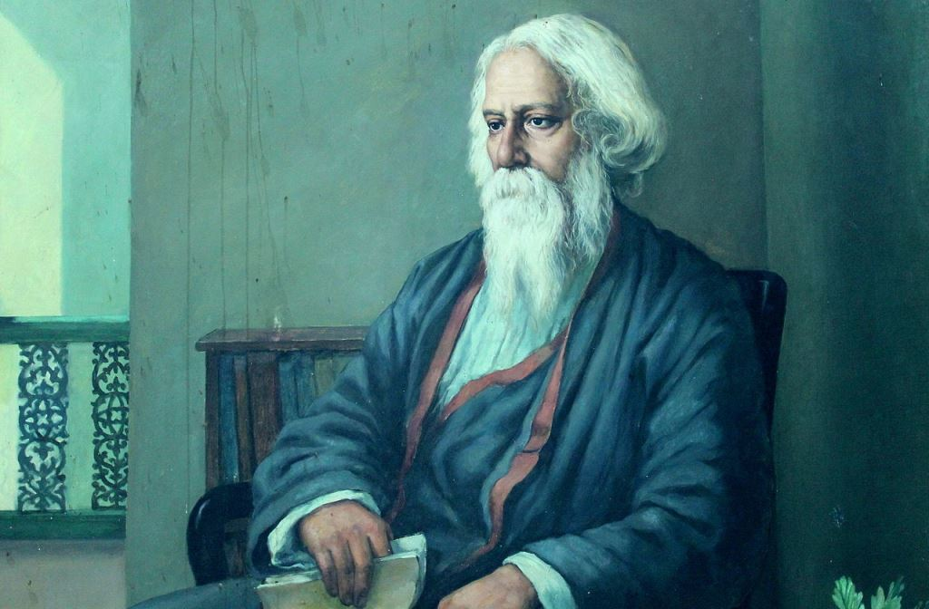 Rabindranath Tagore. Image credit: Cherishsantosh/Wikipedia Commons [Licensed under CC BY-SA 4.0]
