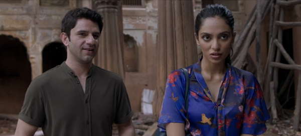 Sobhita Dhulipala and Arjun Mathur in Made in Heaven. Courtesy Amazon Prime Video/Excel Entertainment/Tiger Baby.