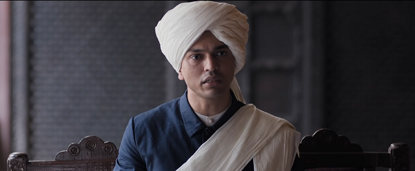 Lalit Prabhakar in Anandi Gopal. Courtesy Zee Studios, Fresh Lime Films and Namah Pictures.